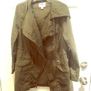 Old Navy forest green coat